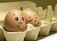 A little egg humor……