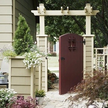 Gates And Fences Are As Integral To An Asian Garden Maples Lanterns