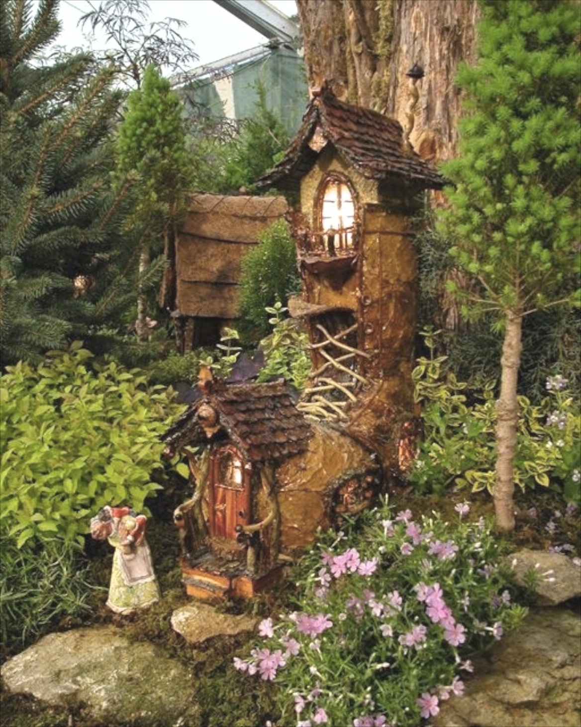Fairy Gardens III On Pinterest