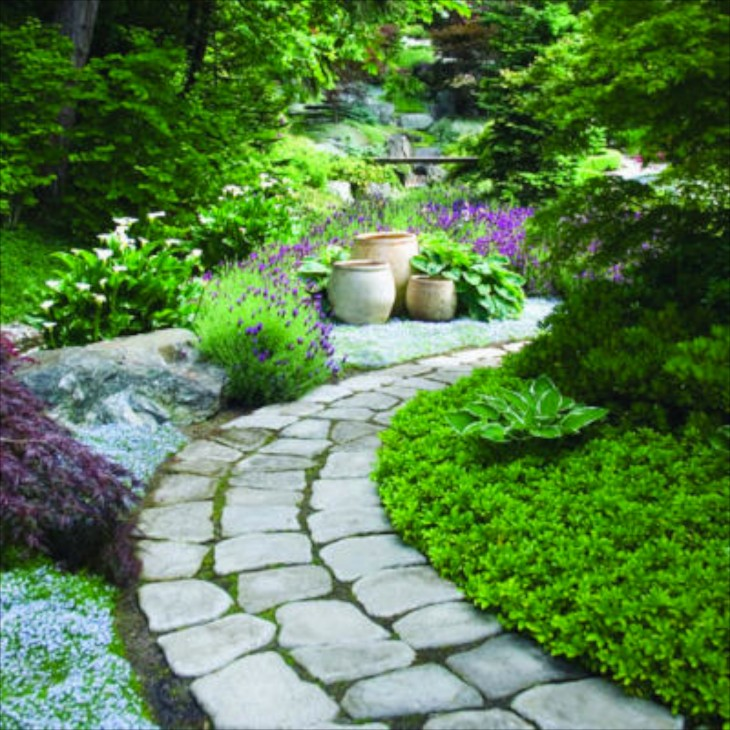 Garden paths for Landscaping ideas stone path
