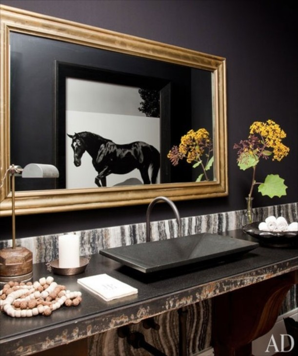 Equestrian Inspired Decor - Horse themed bathroom decor for bathroom decor ideas
