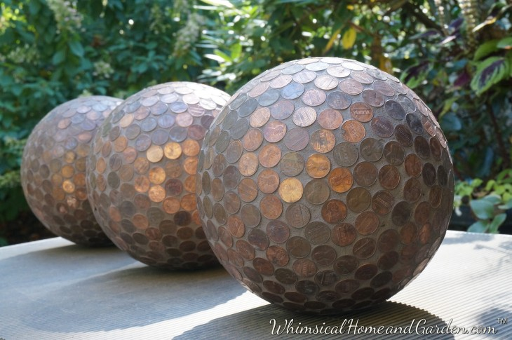 Tomorrow I Will Have Photos Of The Finished Penny Ball Garden, And You Can  See What I Did With Them. I Hope You Will Come Back To ...