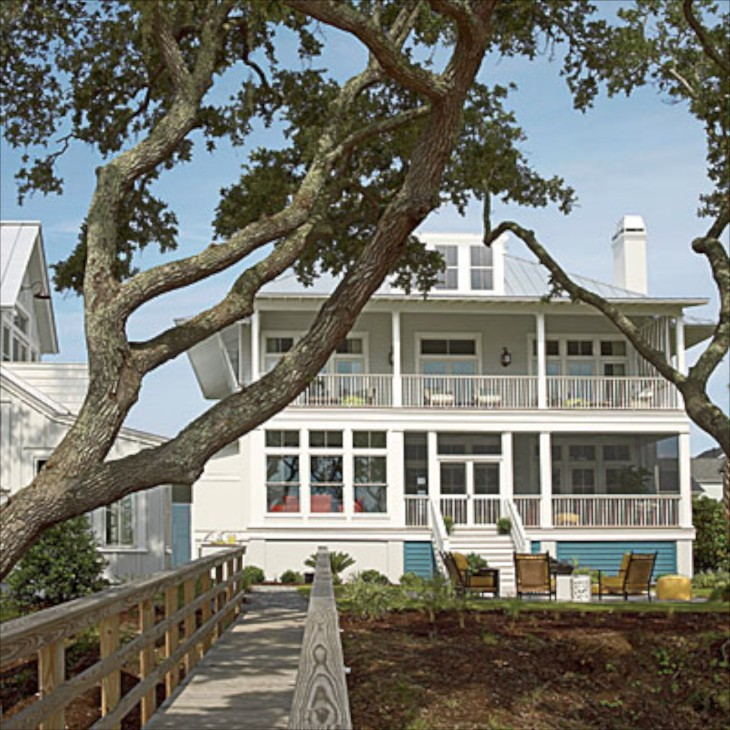 The Beach House Garden City Sc: Coastal Living Showhouse 2013