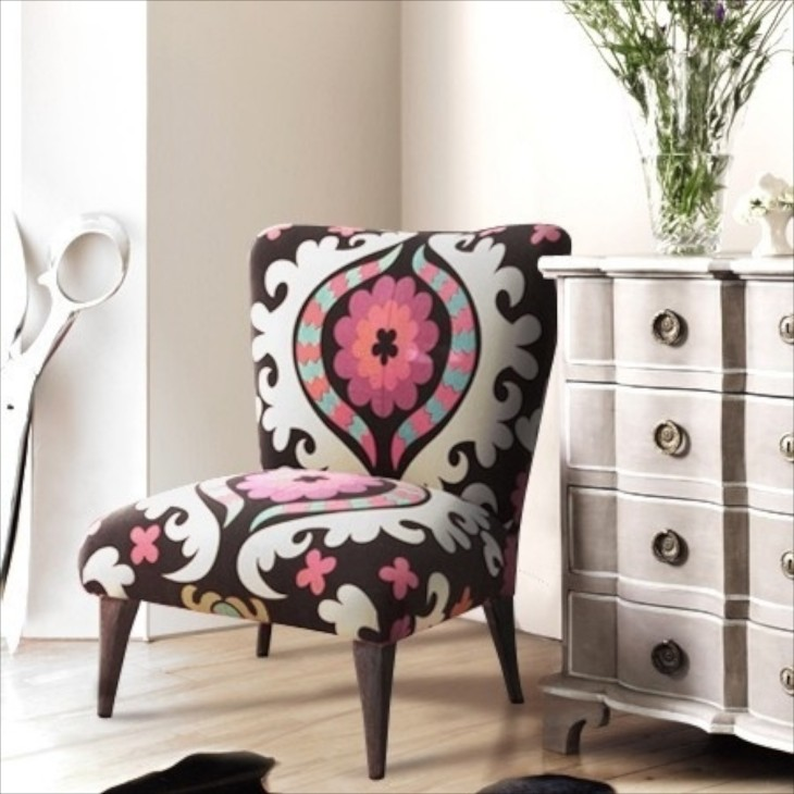 This Is A Fun Example Of A Beautifully Put Together Corner. Notice The  Whimsical Giant Scissors To The Left Of The Chair. The Subtle Color Of The  Chest Is ...