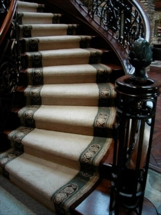 Image Of Stairway Carpet Ideas