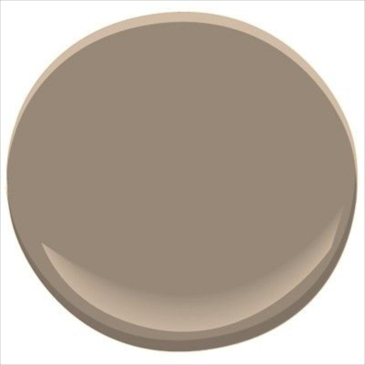 Decorating with greige Touch of grey benjamin moore