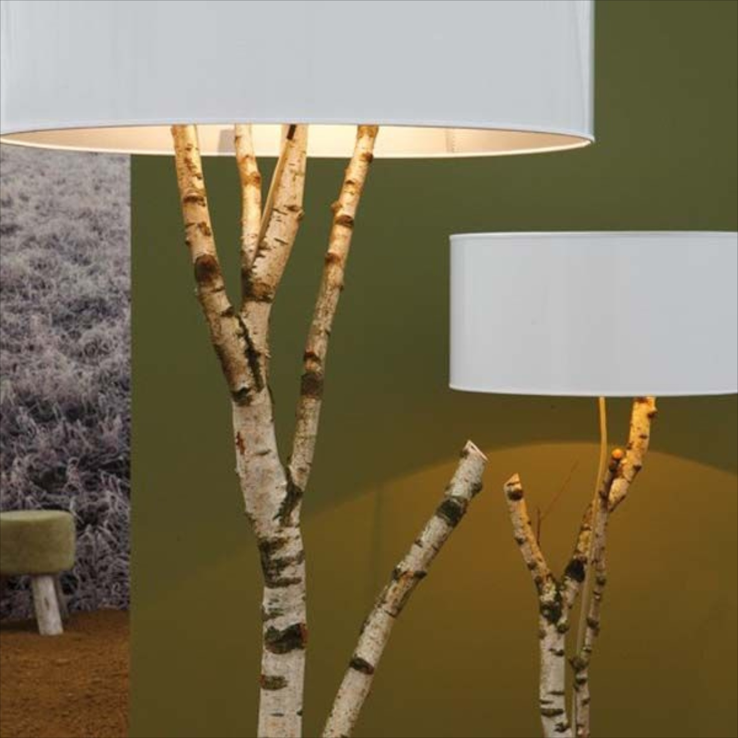 Wonderful A Floor Lamp Made From Birch Branches Lends An Organic Look And Would Wok  In A Country, Rustic Or A Contemporary Setting, Depending On The Shade You  Choose.
