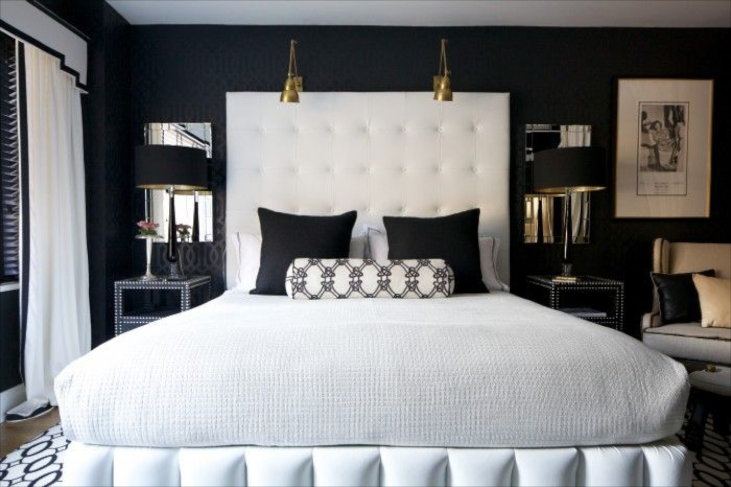 White And Gold Bedroom Decor > PierPointSprings.com