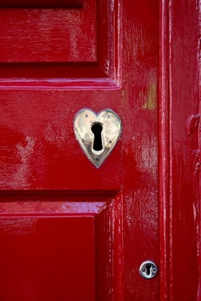 Make a more , by painting permanent statement, that loves lives here. Go ahead. Be brave and paint that door red.
