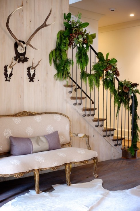 via styleblueprint.com stair rail construction…;ove it!