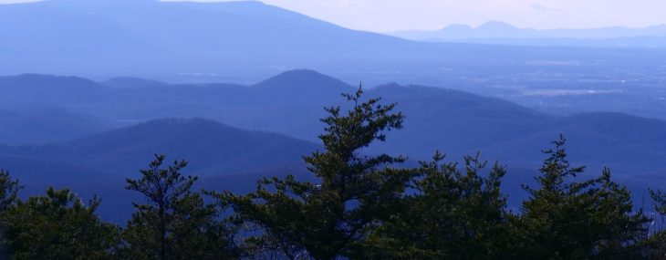 The Beautiful Blue Ridge Parkway