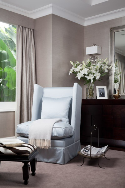 In A Traditional Decor We See It Paired With Pale Blue And Chest
