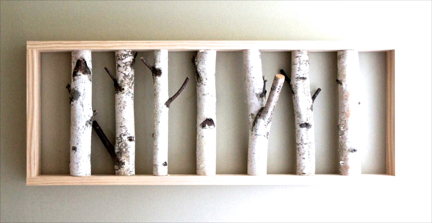 Decorating With White Birch Logs