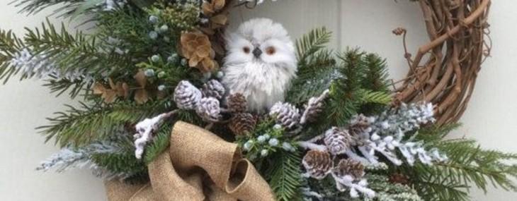 Interior Christmas Wreaths